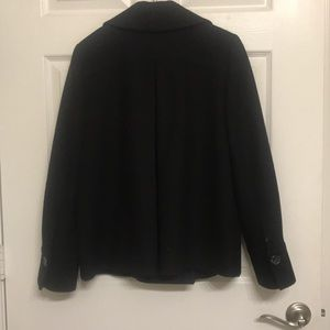 Banana Republic Jackets & Coats - Banana Republic double breasted black pea coat
